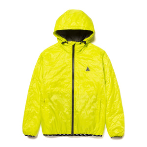 HUF Polygon Quilted Jacket Bio Lime