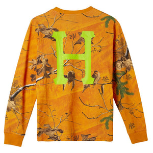 HUF Realtree Classic H Long Sleeve T-Shirt Realtree Orange