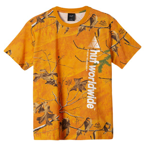 Huf Realtree Peak Logo T-shirt Realtree Orange