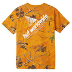 Load image into Gallery viewer, Huf Realtree Peak Logo T-shirt Realtree Orange