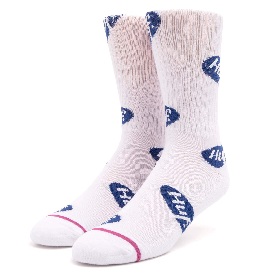 Huf Relax Sock White