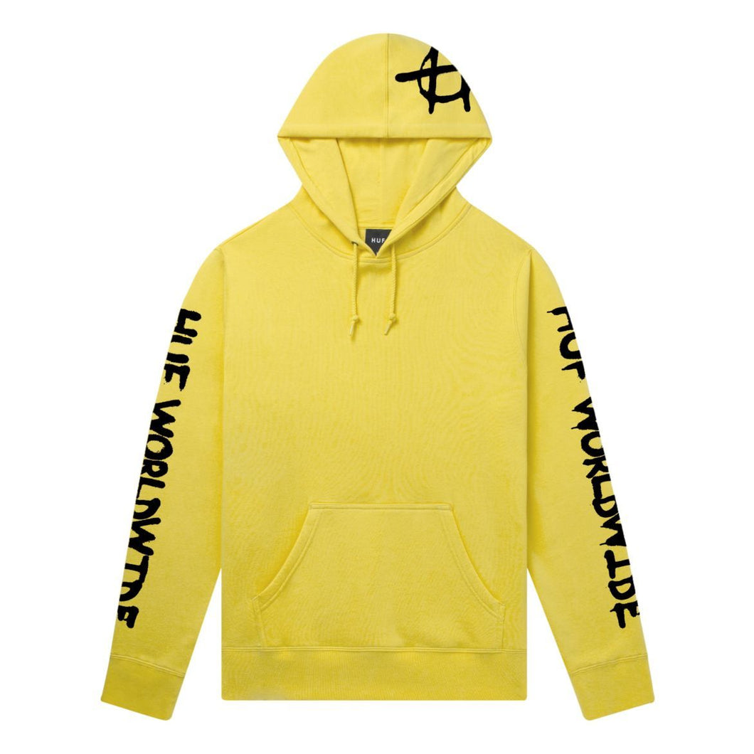 HUF Riot Pullover Hoodie Sauterne