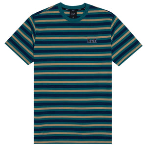 HUF Rockaway Short Sleeve Knit Top Insignia Blue