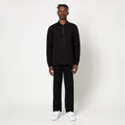 Load image into Gallery viewer, HUF Rosecrans LS Knit Black