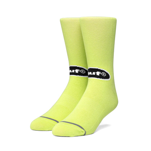 HUF Safety Sock Hot Lime