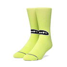 Load image into Gallery viewer, HUF Safety Sock Hot Lime