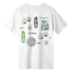 Load image into Gallery viewer, HUF SCATTERED LEAVES S/S T-SHIRT White