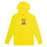 HUF See You In Hell Pullover Hoodie Mens Hoodie Blazing Yellow