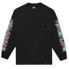 Load image into Gallery viewer, HUF Short Term Long Sleeve Pocket T Shirt Mens Ls Tee Black