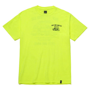 Skidrokyo Transport T-shirt Safety Yellow