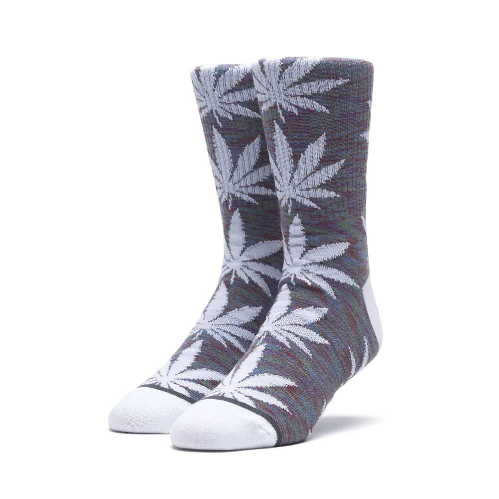 HUF Space Dye Plantlife Sock Mens Sock Insignia Blue