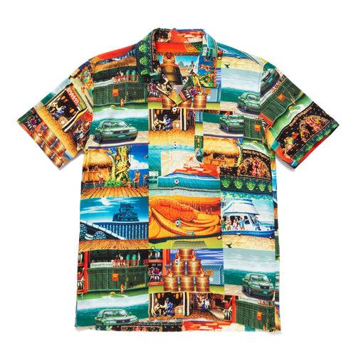 Huf Stages Short Sleeve Resort Shirt Multi