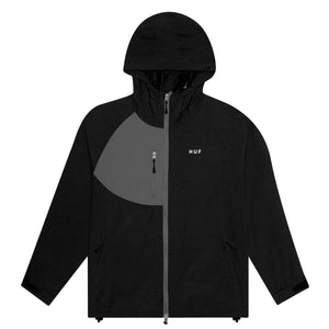 HUF Standard 2 Shell Jacket Mens Jacket Black