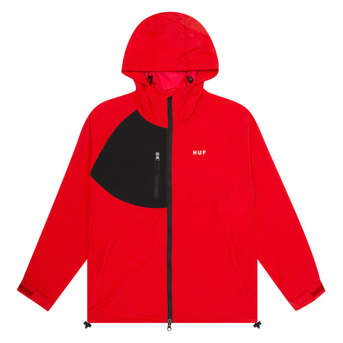 HUF Standard 2 Shell Jacket Mens Jacket Poppy
