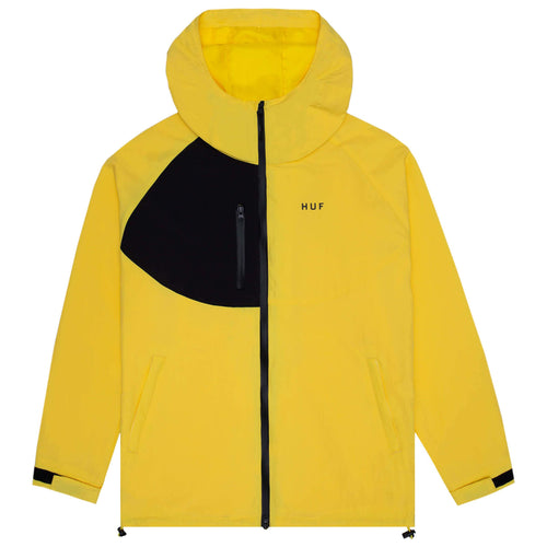 HUF Standard Shell 2 Jacket Aurora Yellow