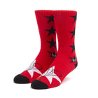 Load image into Gallery viewer, HUF STARLA SOCKS RED