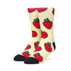 Load image into Gallery viewer, HUF Strawberry Sock Pale Lemon