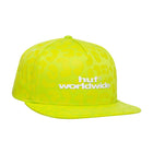 Load image into Gallery viewer, HUF Street Cat Snapback Cap Mens Cap Hot Lime
