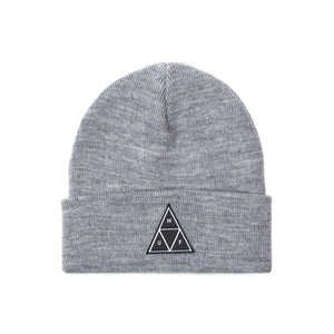 HUF Triple Triangle Cuff Beanie Mens Beanie Grey Heather