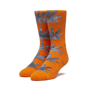 Huf Tiedye Leaves Plantlife Sock Orange