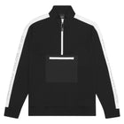 Load image into Gallery viewer, HUF Tribeca 1/4 Zip Fleece Black