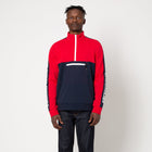 Load image into Gallery viewer, HUF Tribeca 1/4 Zip Fleece Navy Blazer