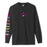 HUF TROJAN PLEASURE PACK LONG SLEEVE T-SHIRT MENS BLACK