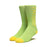 HUF TROJAN SOCKS MENS LIME