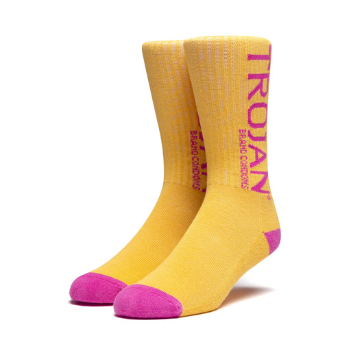 HUF Trojan Socks Mens Orange