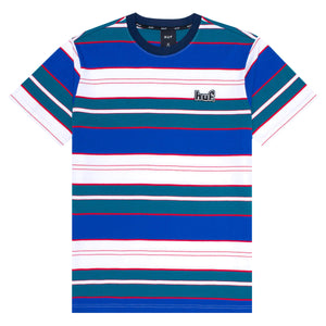 HUF Upland Short Sleeve Knit Top Insignia Blue