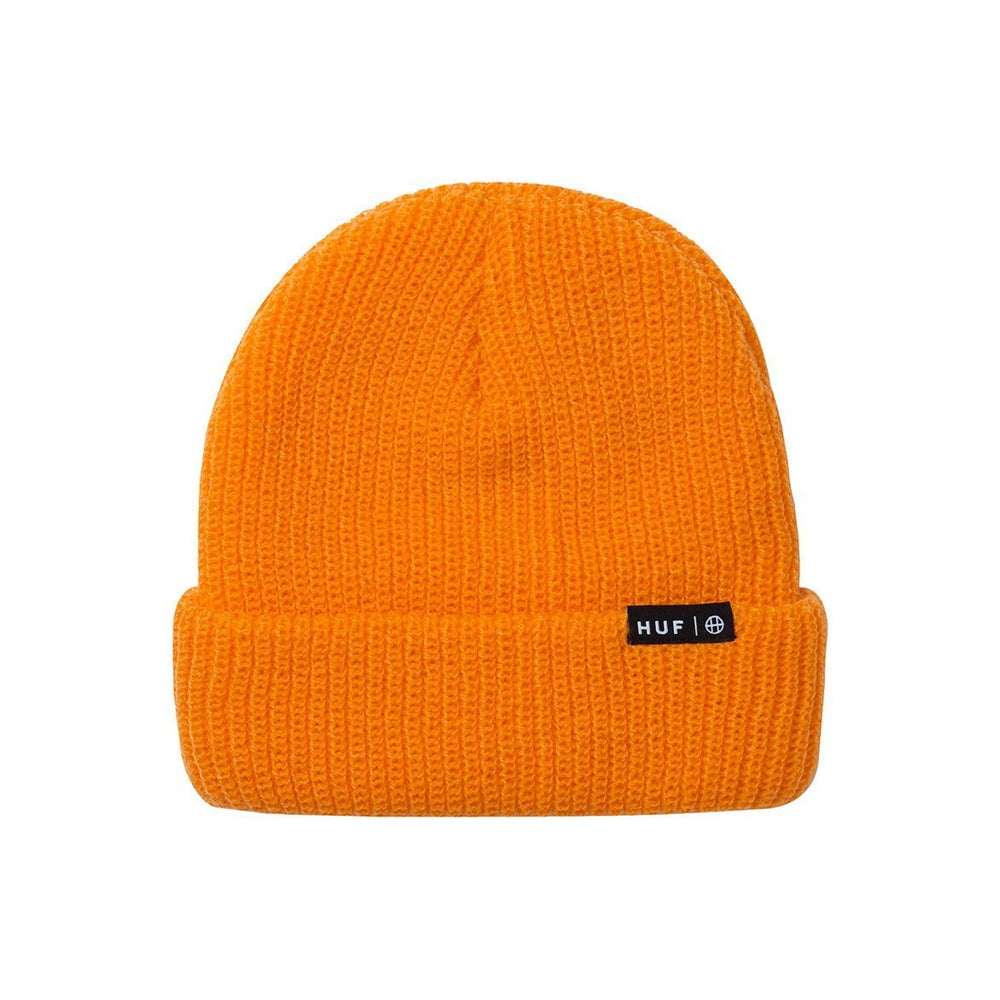 HUF Usual Beanie Mens Beanie Russet Orange
