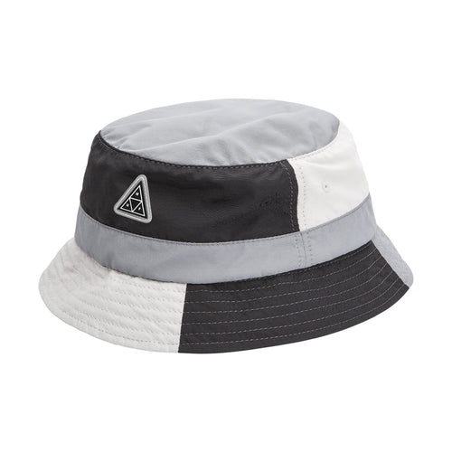 HUF Wave Nylon Bucket Hat Black