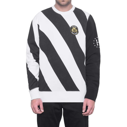 HUF Wc Penalty Crew Fleece Black