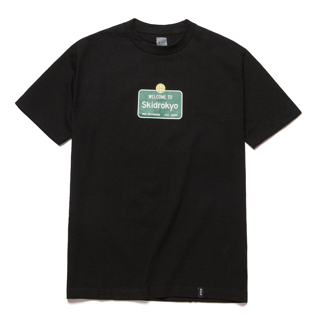 Welcome To Skidrokyo T-shirt Black