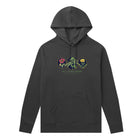Load image into Gallery viewer, HUF Wild Flowers 2 Pullover Hoodie Black