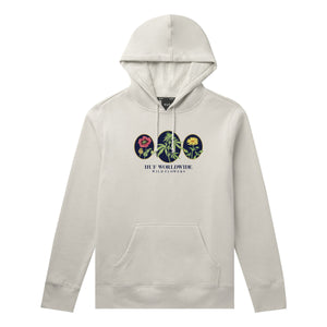 HUF Wild Flowers 2 Pullover Hoodie Unbleached