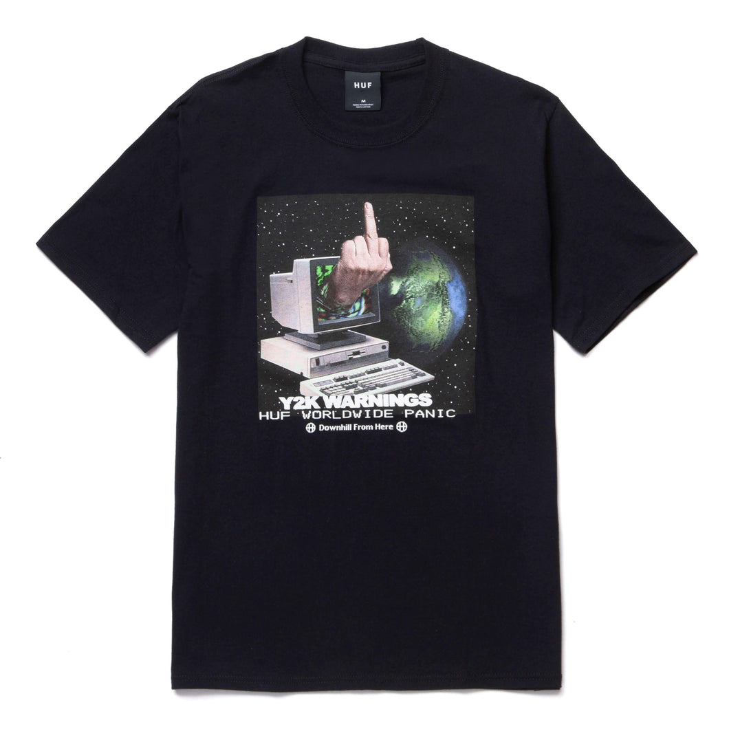 Huf Y2K DAY T-Shirt Black