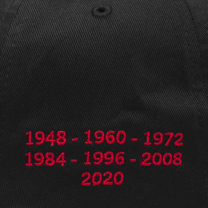 Year of the Rat DBC Curved Visor 6 Panel Black