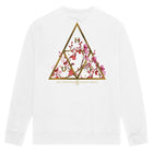 Load image into Gallery viewer, Year of the Rat Triple Triangle Crewneck White