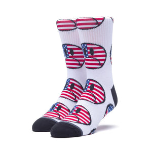 HUF Bummer USA Sock