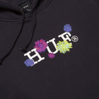 Load image into Gallery viewer, Huf Psycho Daisies Pullover Hoodie French Navy