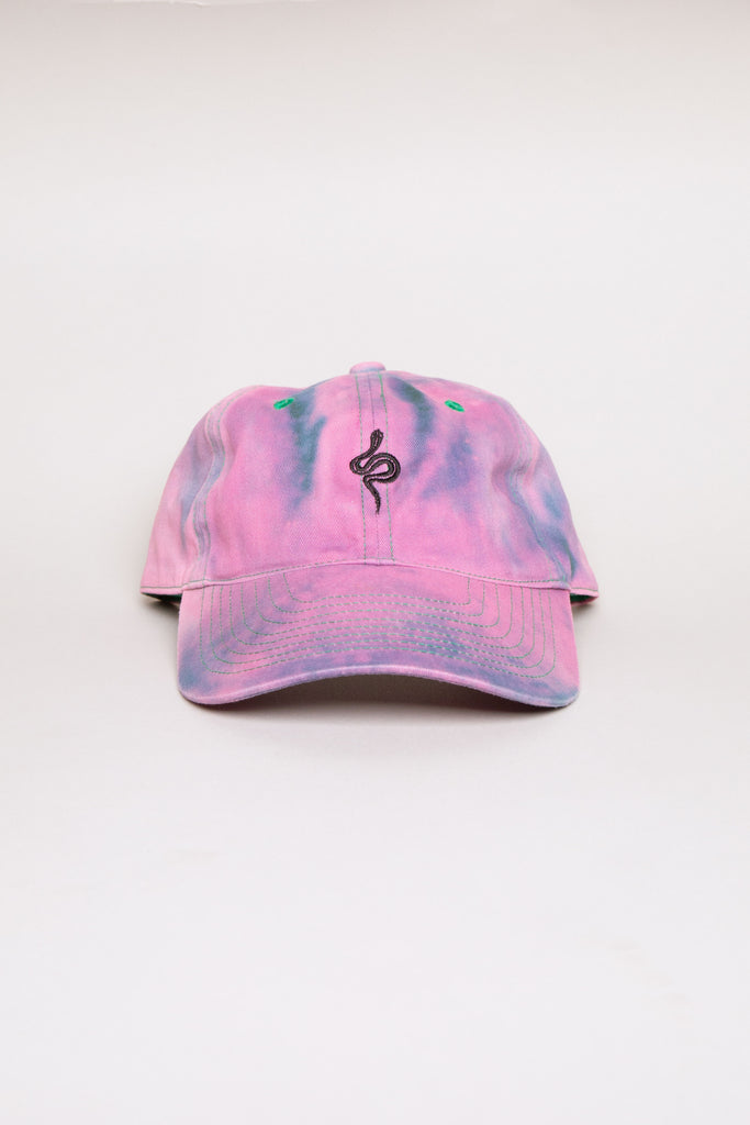Washed Snake Cap Pink