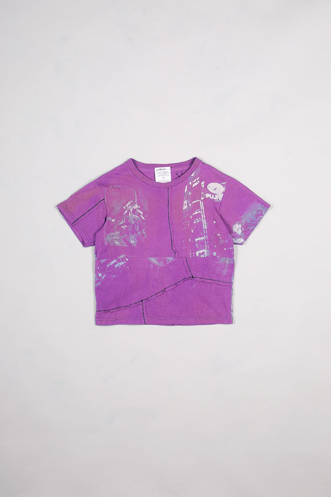 In Bloom DIY Patchwork T-Shirt Bleached Pink