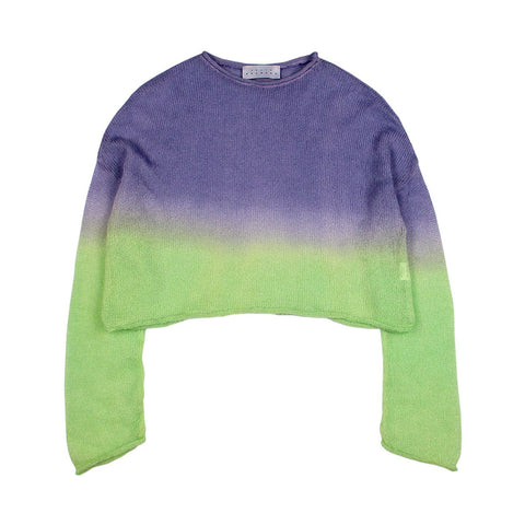Dip-dye Knit Sweater