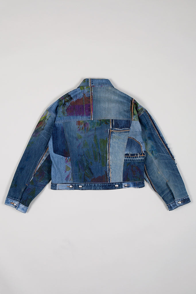 DIY Patchwork Denim Jacket II