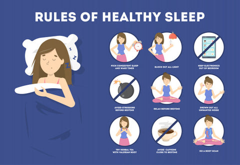 Healthy sleep tips