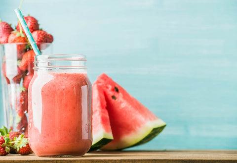 homemade watermelon smoothie recipe