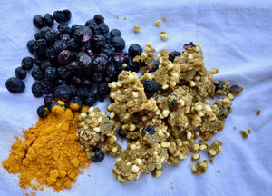 Tiger Nut Granola- Blueberry Turmeric