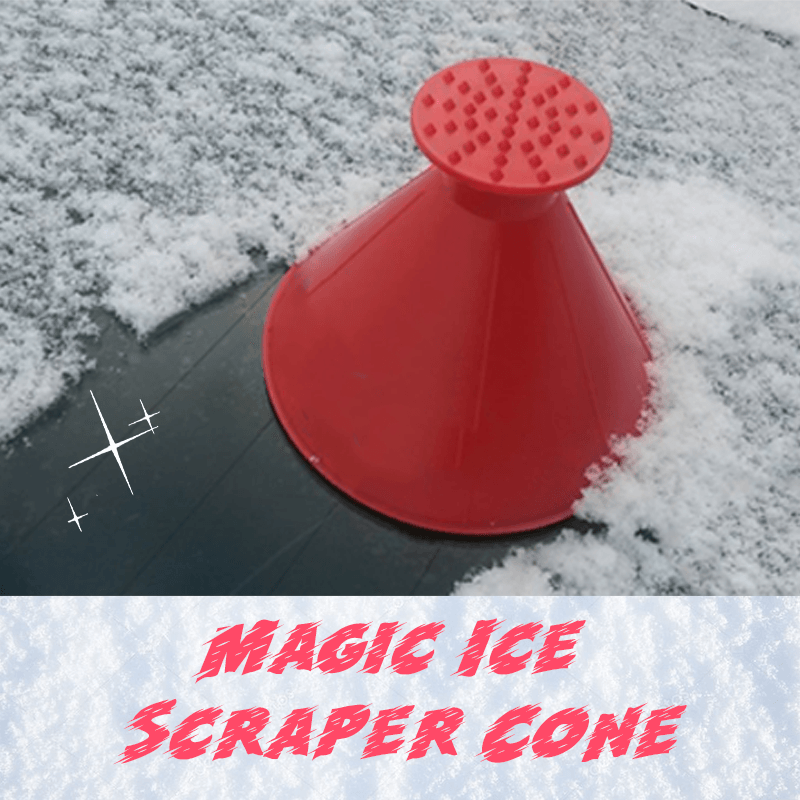 [BUY 1 GET 1 FREE!] Easy Ice Scraper Cone