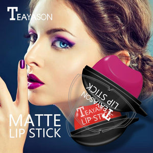 (🎁The Greatest Christmas Gift of all 🎁) Teyason™ Lazy-Sexy Lip Shaped Waterproof Lipstick